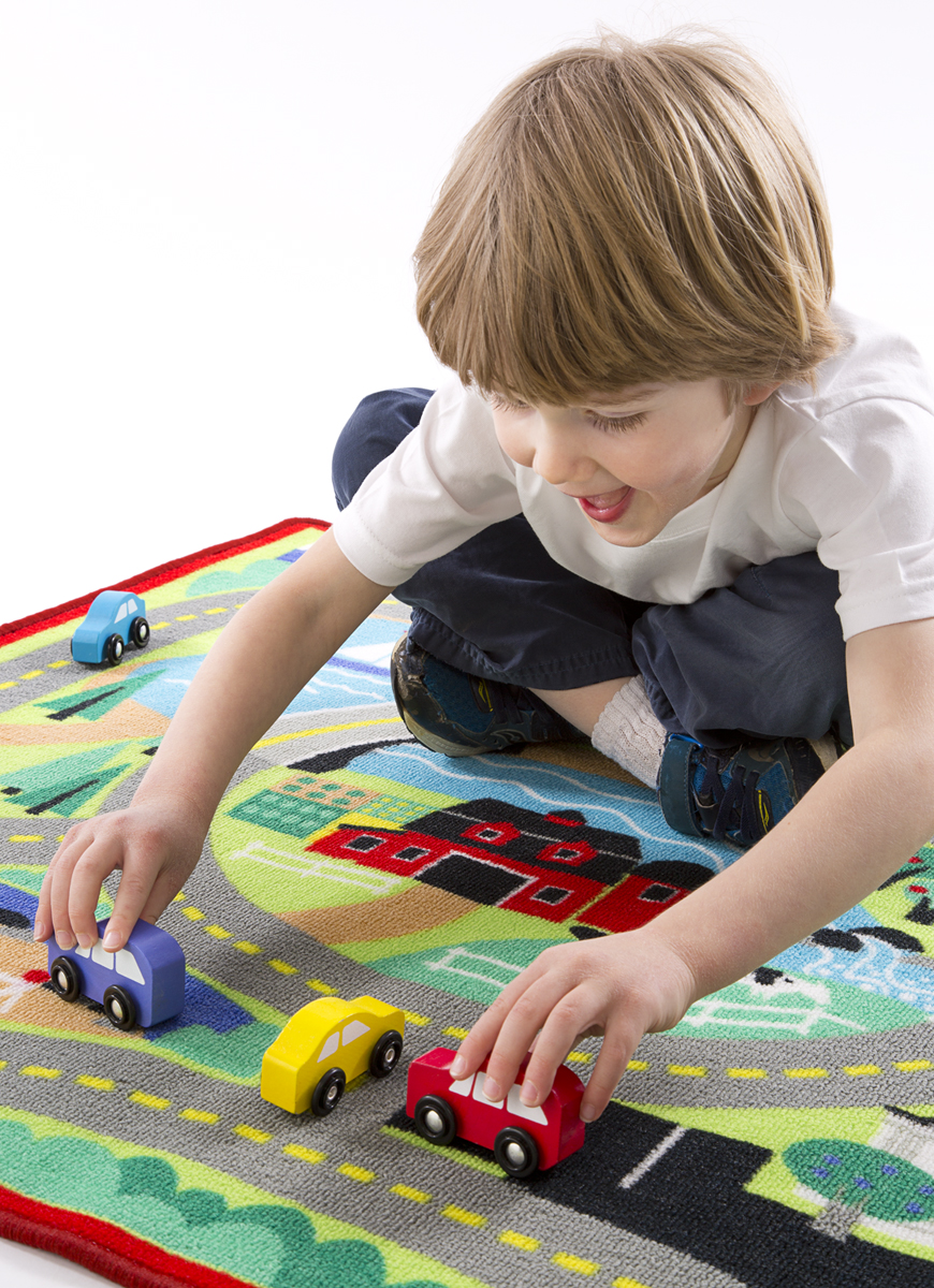 Round The Town Road Rug Amp Car Set Melissa S Picks