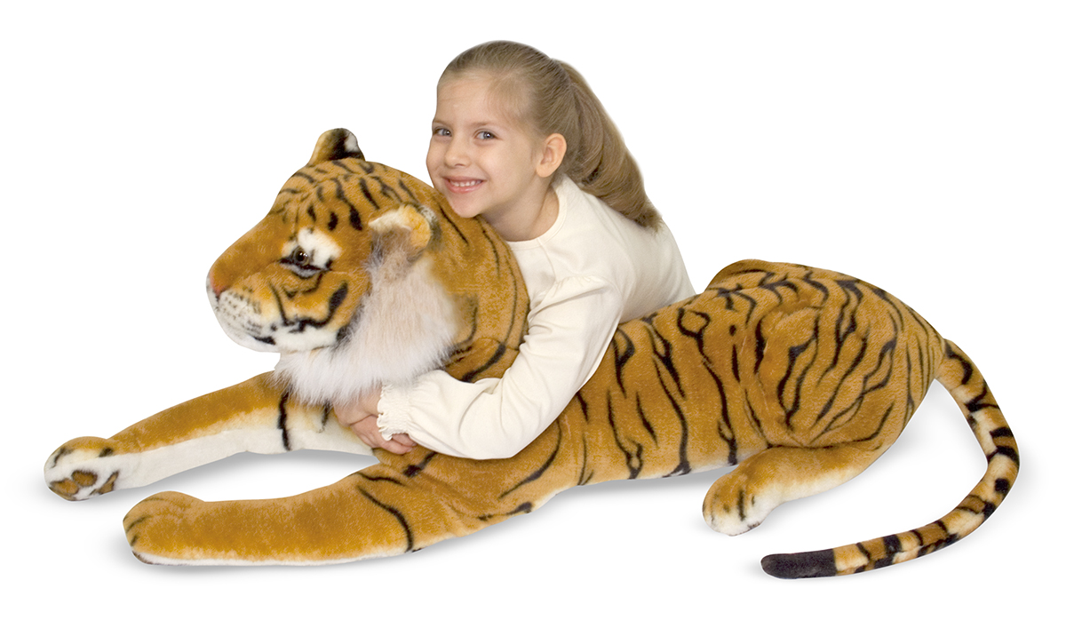 Large Stuffed Plush - Siberian Tiger