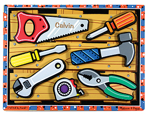 Tools Chunky Puzzle - 7 Pieces