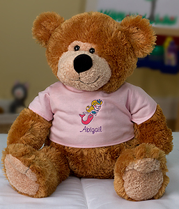 Personalize Me Girl Bear