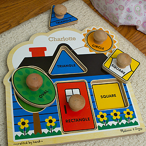 First Shapes Jumbo Knob - 5 Pieces