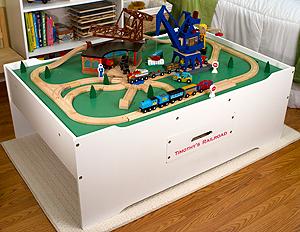 Multi-Activity Train Table