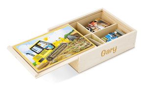 Construction Jigsaw Puzzles in a Box