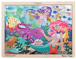 Mermaid Fantasea Wooden Jigsaw Puzzle - 48 pieces
