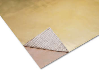 "24""X 48"" GOLD HEAT BARRIER picture"