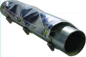 "PIPE SHIELD-2' W/4"" CLAMPS picture"
