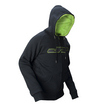 JT Hoodie - Zone  Black/Neon Green additional picture 1
