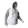 JT Hoodie - Street  White/Grey additional picture 1