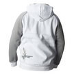 JT Hoodie - Street  White/Grey additional picture 2