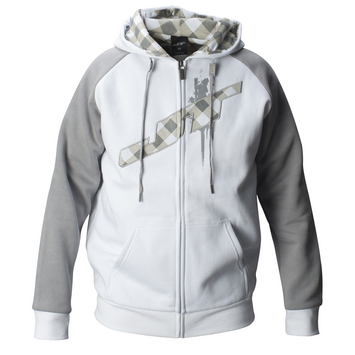 JT Hoodie - Street  White/Grey picture