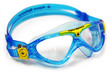Vista Jr - Clear Lens - Trans Blue Frame with Orange Accents additional picture 2