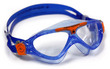Vista Jr - Clear Lens - Trans Blu Frame with Yellow Accents additional picture 2