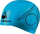 Swim Cap - Tri-Cap Silicone - Blue