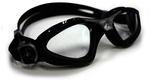 Kayenne Regular Fit - Clear Lens, Black Frame with Silver Accents