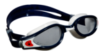 Kaiman EXO - Clear Lens - Blue Muted Frame with White and Orange Accents