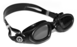 Mako - Smoke Lens - Black Frame with Silver Accents