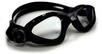 Kayenne Regular Fit - Clear Lens, Black Frame with Silver Accents picture