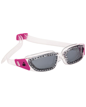 Kameleon Lady - Smoke Lens - Transparent with Pink Accents picture