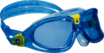 Seal Kid 2 - Blue Lens - Aqua + Lime Frame picture
