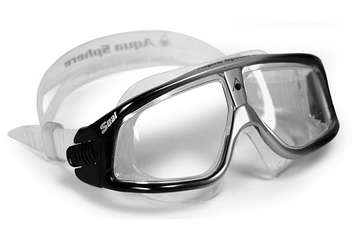Seal&reg; - Clear Lens - Black/Silver Blend Frame picture