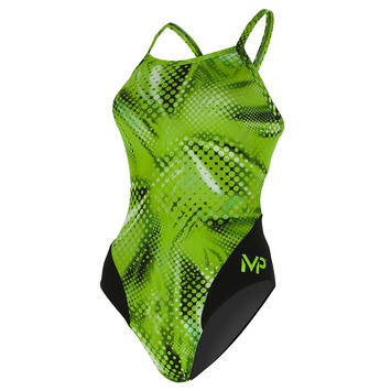 Team Suit - Women - Mid Back - Mesa - Green picture