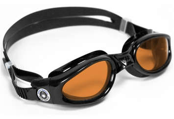 Kaiman Regular Fit - Amber Lens - Black Frame picture