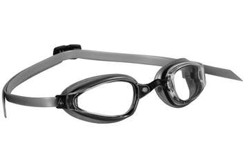 K180+ - Clear Lens - Black with Silver Accents picture