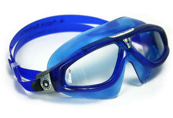 Seal XP - Clear Lens - Trans Blue Frame with Silver Accents picture