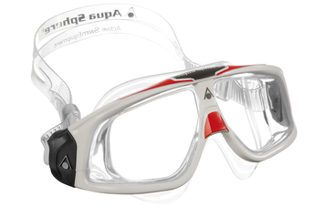 Seal 2 - Clear Lens - White + Red picture