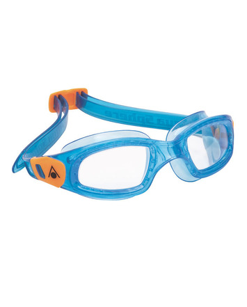 Kameleon Kid - Clear Lens - Blue Frame with Orange Accents picture