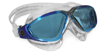 Vista - Blue Lens - Aqua+Blue Frame with Silver accents picture
