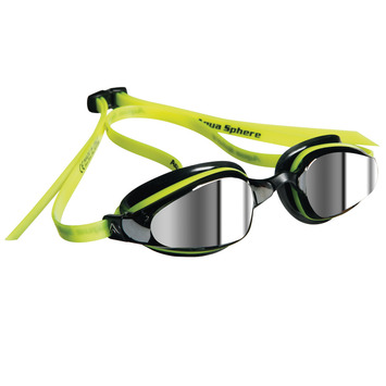 K180 - Mirror Lens - Yellow with Black Accents picture