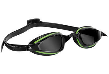 K180+ - Smoke Lens - Black Frame with Green Accents picture