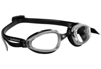 K180 - Clear Lens - Silver with Black Accents picture