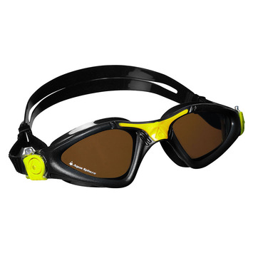 Kayenne Regular Fit - Polarized Lens - Black Frame with Yellow Accents picture