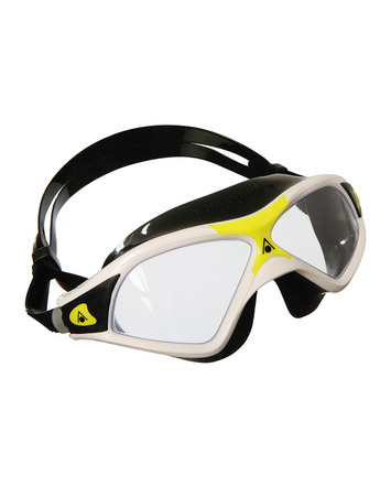 Seal XP 2 - Clear Lens - White Frame with Yellow Accents picture