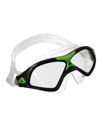 Seal XP 2 - Clear Lens - Black Frame with Green Accents picture