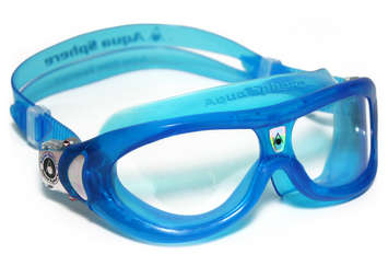 Seal Kid - Clear Lens - Trans Aqua Frame picture