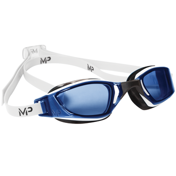 XCEED - Blue Lens - White with Black Accents picture