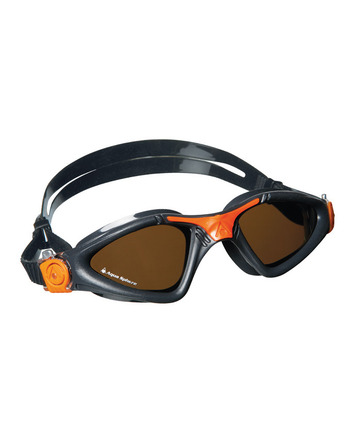 Kayenne Regular Fit - Polarized Lens - Grey Frame with Orange Accents picture