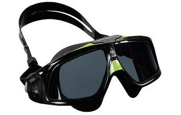 Seal 2 - Smoke Lens - Black Frame w/Green Accent (Black Skirt) picture