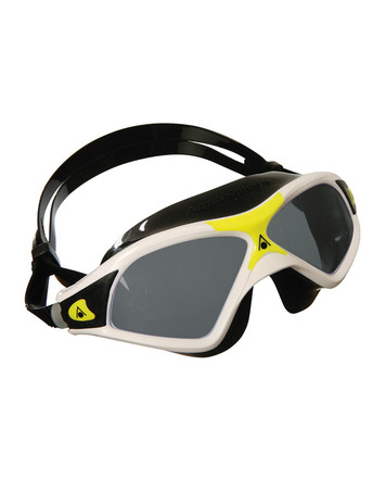 Seal XP 2 - Smoke Lens - White Frame with Yellow Accents picture