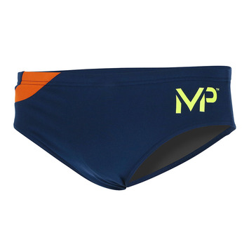 Team Suit - Men 3in Brief - Splice - Navy/Orange picture