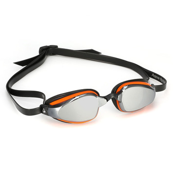 K180+ - Mirror Lens - Orange with Black Accents picture
