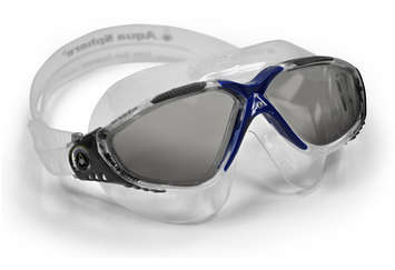 Vista - Smoke Lens - Translucent Frame with Gray and Blue Accents picture