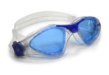 Kayenne Regular Fit - Blue Lens - Translucent Frame with Blue Accents picture