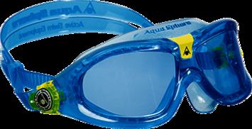 Seal Kid 2 - Blue Lens - Aqua + Lime Frame picture