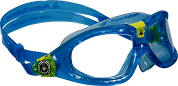 Seal Kid 2 - Clear Lens - Aqua Frame picture