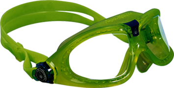 Seal Kid 2 - Clear Lens - Lime Frame picture