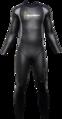 Aqua Skin Full Suit, Men - Black with Grey - XXL